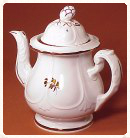 Anthony Shaw Niagara Fan Tea Leaf Coffeepot c1856